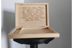 Pudełko na zdjęcia i pendrive na dzień nauczyciela