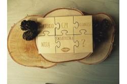 Prośba o świadkowanie dla świadka - puzzle