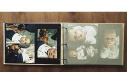 Album dla noworodka z przekładkami