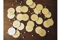 Drewniane memory dla dzieci