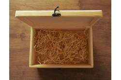 Drewniana skrzynka na urodziny personalizowana