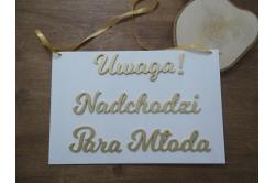 Tabliczki dla dzieci na ślub