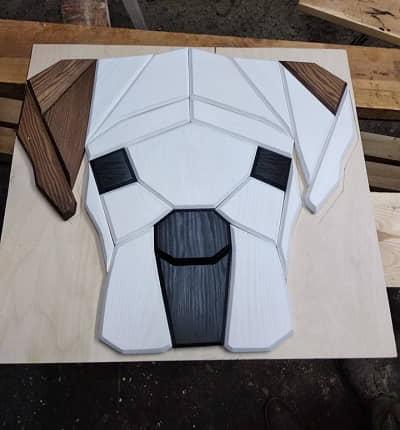 bokser geometryczny
